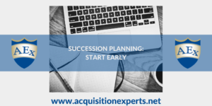 Succession planning: start early