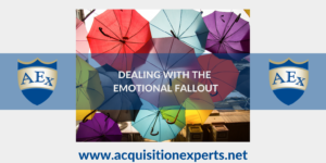 DEALING WITH THE EMOTIONAL FALLOUT